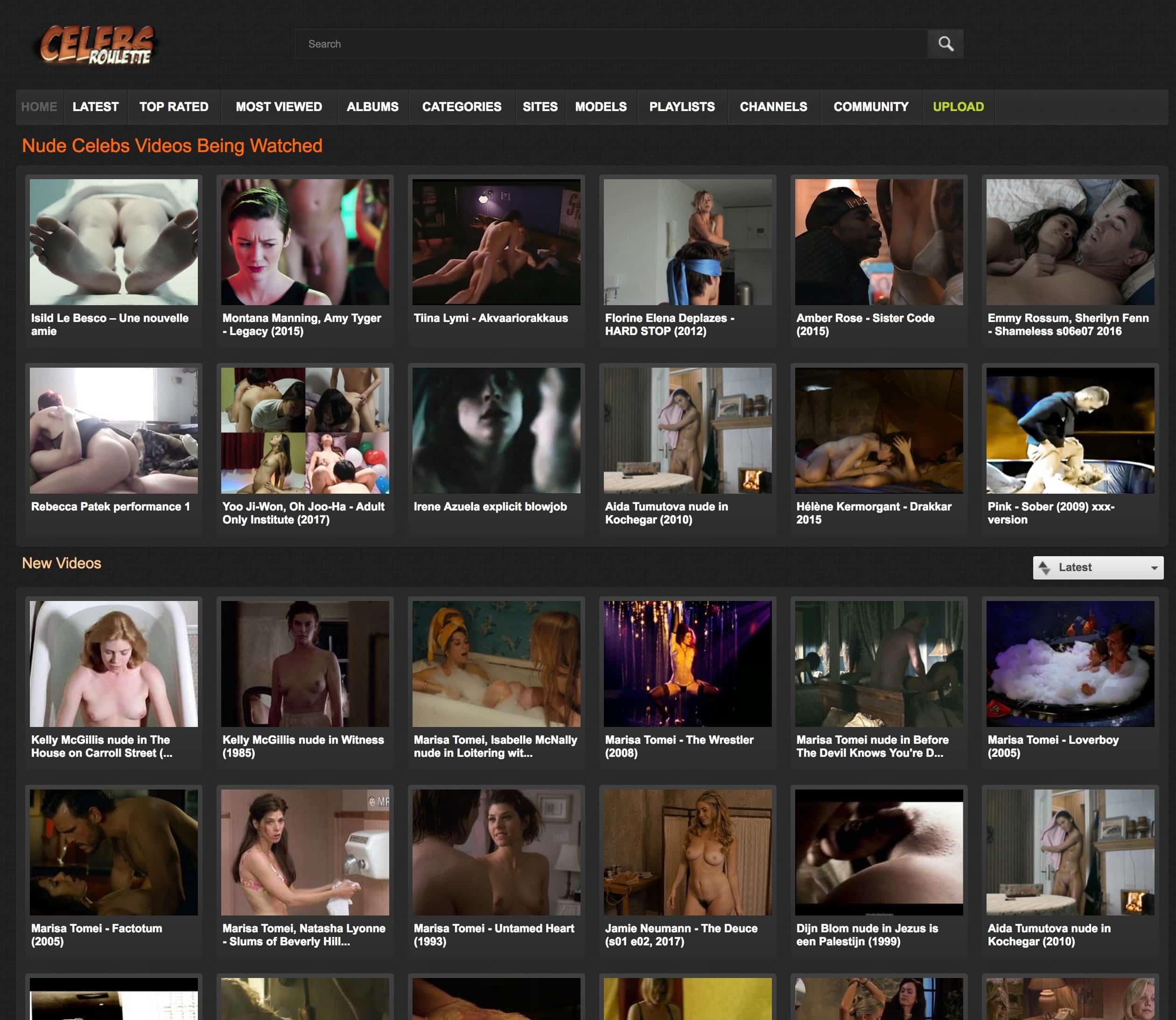 similar celebrity porn sites to celebsroulette